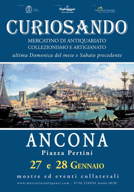 """""""Curiosando"""", nuova stagione per il mercatino di Ancona"""