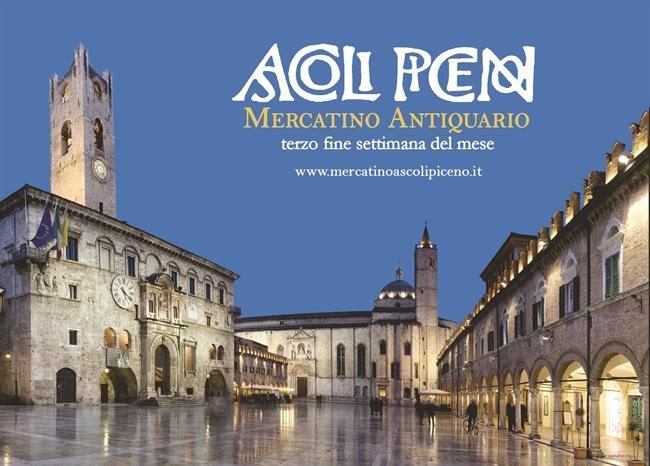 Ascoli Piceno, Mercatino Antiquario il 20 e 21 gennaio 2018