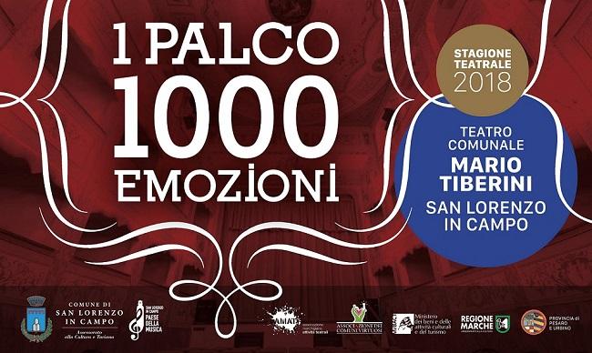 San Lorenzo in Campo, parte la stagione teatrale 2018