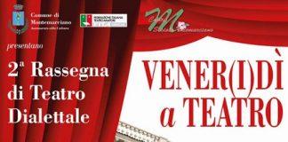 venerdi a teatro 26 gennaio 2018 Montemarciano