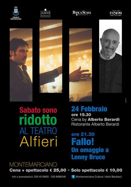 Montemarciano, gli eventi del weekend 23-25 febbraio 2018