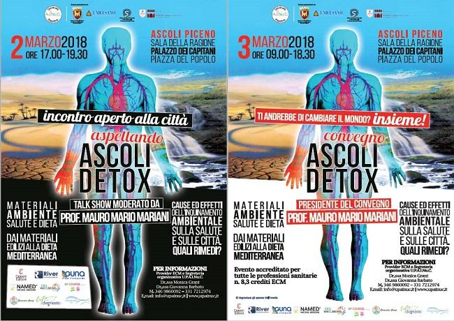 Ascoli-Detox il 2 e 3 marzo per parlare di inquinamento ambientale