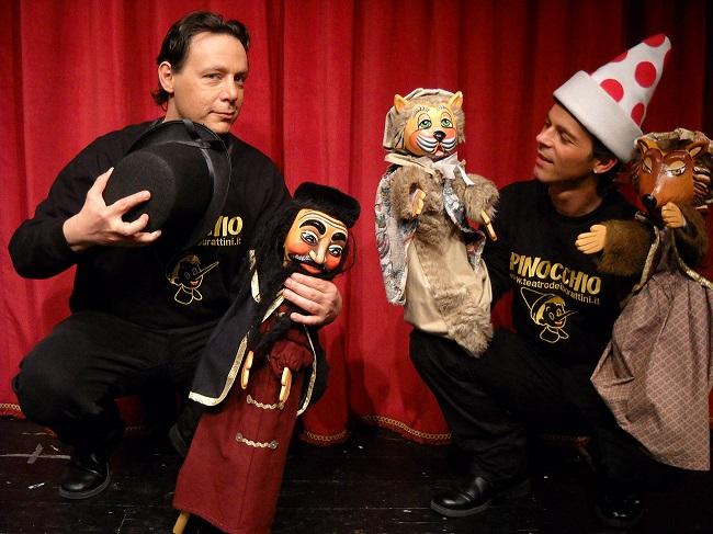 Pinocchio, Le avventure di un sognatore: gli spettacoli