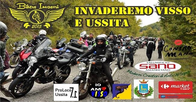 Invaderemo Visso e Ussita: raduno bikers a scopo benefico