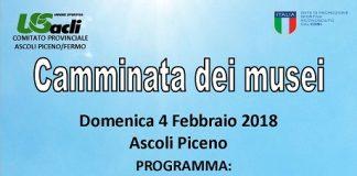 Camminata Dei Musei 04-02-2018