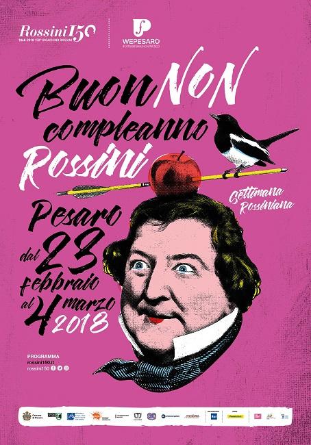 Pesaro, 150° di Rossini: gli eventi del 24 e 25 febbraio