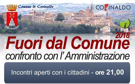 """Corinaldo, """"Fuori dal Comune"""": appuntamenti di febbraio"""