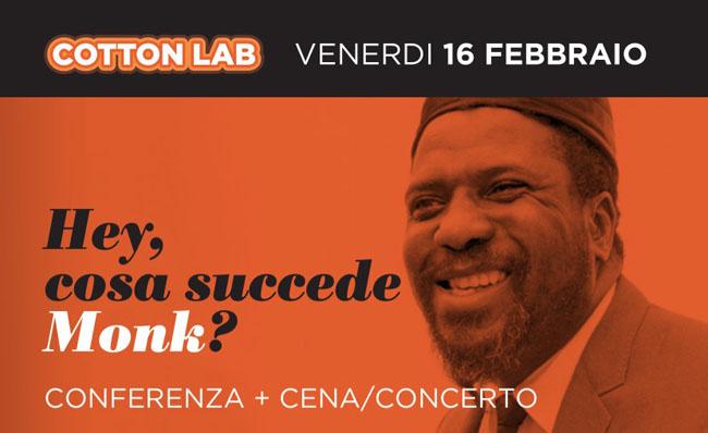 Ascoli Piceno, serata dedicata a Thelonious Monk al Cotton Lab