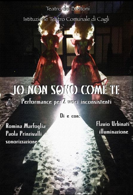 Io non sono come te, il 18 febbraio al Teatro Comunale di Cagli