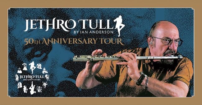 Ian Anderson presents Jethro Tull 50th Anniversary Tour a Recanati