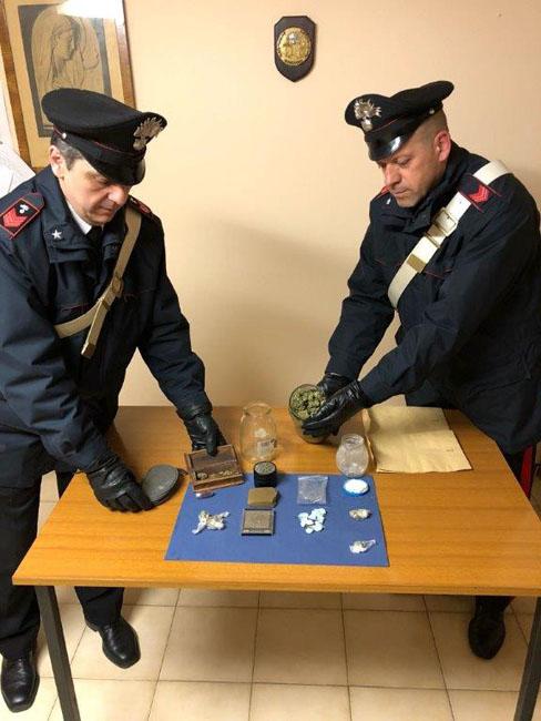 Mogliano, spaccio di stupefacenti: due arresti