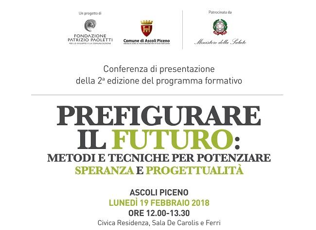 Prefigurare il futuro: il 19 febbraio presentazione a Ascoli