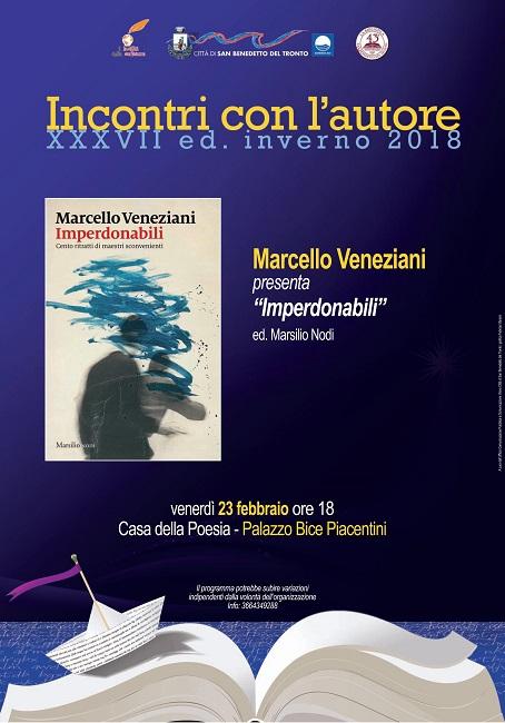 """Marcello Veneziani il 23 febbraio a San Benedetto con """"Imperdonabili"""""""
