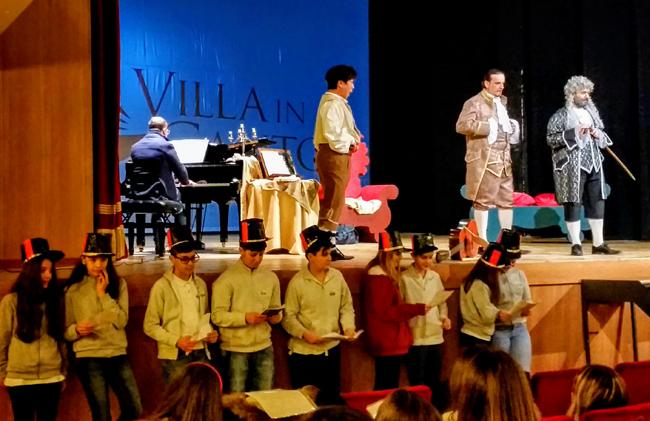 Il Barbiere di Siviglia: esperienza attiva per gli alunni della Curzi