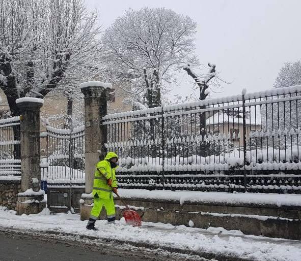 Ascoli, maltempo: dispositivo anti neve in azione dalle ore 5