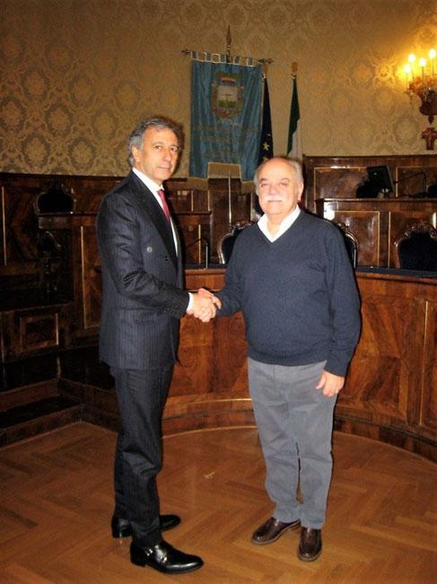 Macerata: incontro del Presidente della Provincia con il nuovo Questore