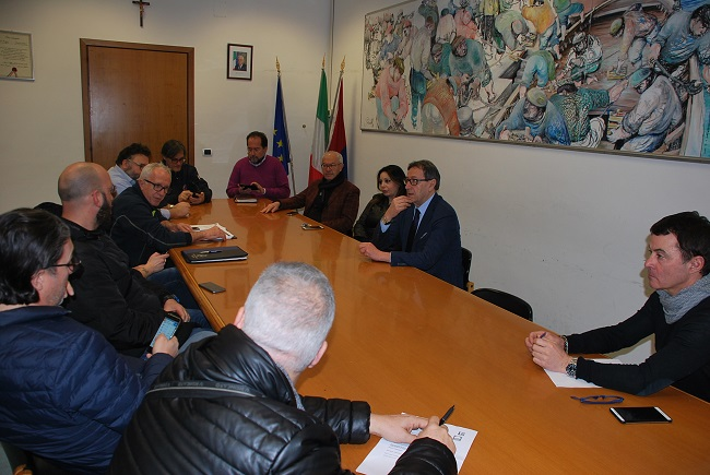San Benedetto, maltempo: riunione tavolo di coordinamento