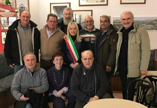 San Severino Marche, nuova visita ai terremotati della protezione civile Torrazza