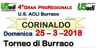 4° edizione del Gran Prix regionale di burraco a Corinaldo