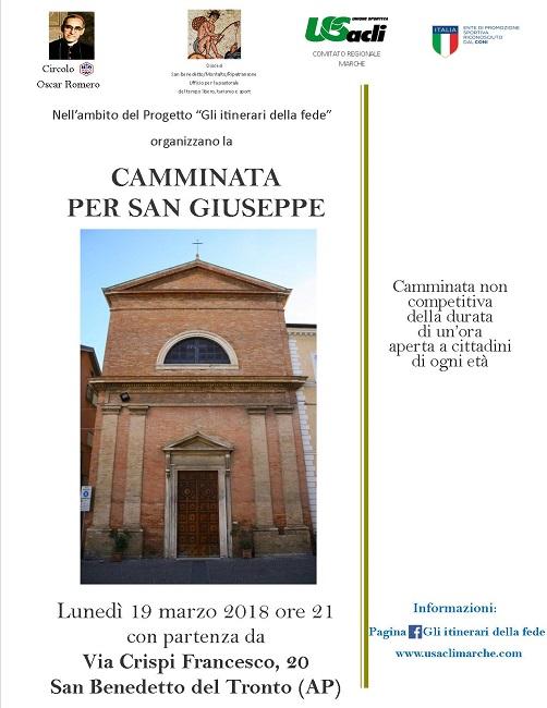 """San Benedetto del Tronto, al via il progetto """"Gli itinerari della fede"""""""