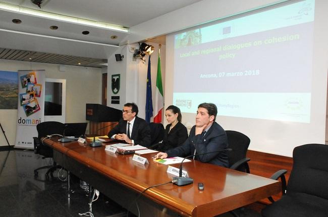 """Bora: """"La politica di coesione per lo sviluppo economico e competitività delle Marche"""""""