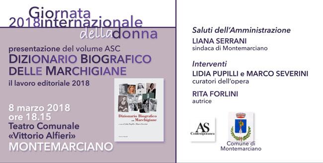 Dizionario Biografico delle Marchigiane 8 marzo