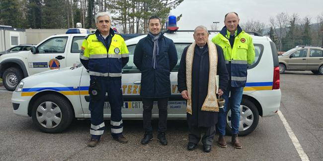 Pieve Torina, donata un'automobile per il Comune