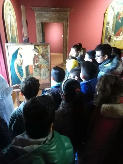 San Severino, laboratorio di restauro per gli alunni settempedani