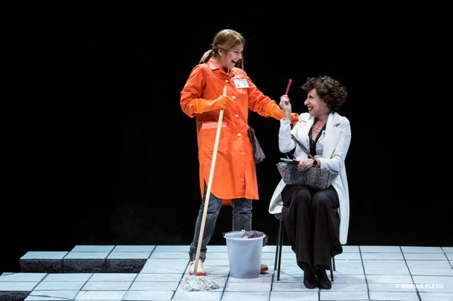 Rosalyn con Faiella e Massironi in scena al Teatro Lauro Rossi
