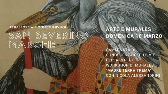 """Progetto """"Trasformami #cometumivuoi"""": il 18 marzo a San Severino"""