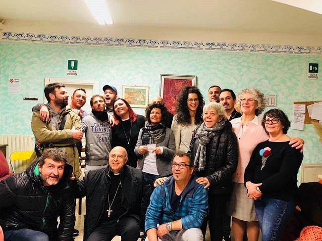 Il Vescovo di Ancona Spina incontra i ragazzi della Comunita' di Massignano