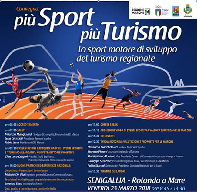 """Senigallia, """"Più sport, più turismo"""": la presentazione dei risultati"""