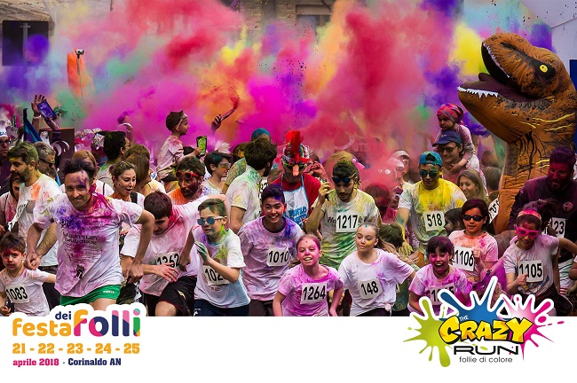 The Crazy Run 2018, torna la Folle Corsa Colorata