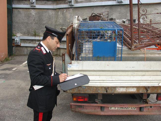 Macerata, furto di ponteggi edili: arrestato 57enne