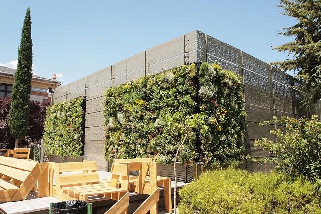 Unicam, giardini verticali: nuova metodologia per lo studio dell'efficienza energetica