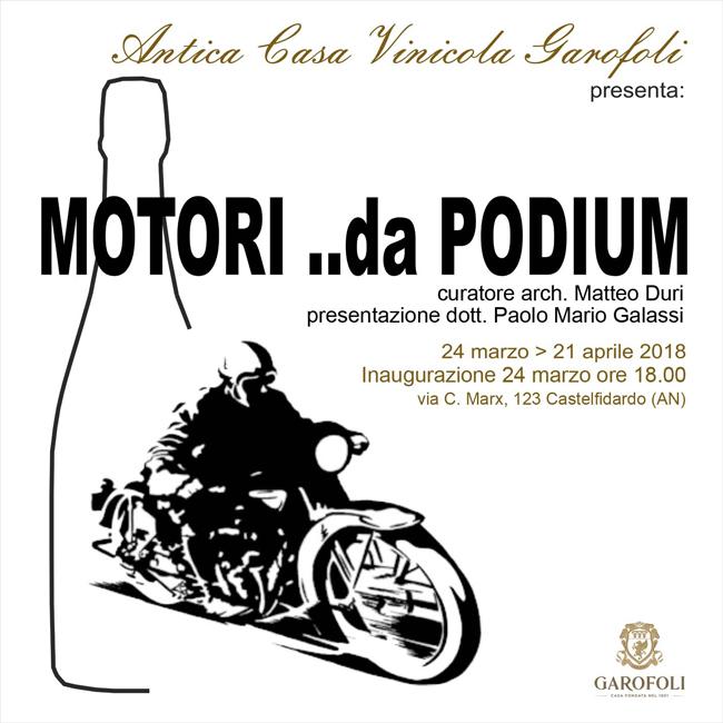 Motori ..da Podium: a Castelfidardo al via la mostra