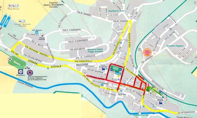 Tirreno-Adriatico fa tappa domani a Castelraimondo: tutte le info