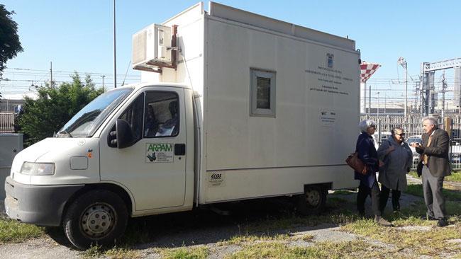 Ancona, rilevazione PM10: nuova centralina mobile
