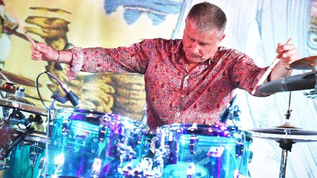 Il batterista Carl Palmer in concerto a Macerata il 23 agosto