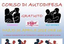 corso autodifesa aprile maggio Fano