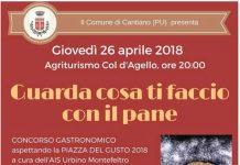 6 Premio Gastronomico Piazza del Gusto Cantiano