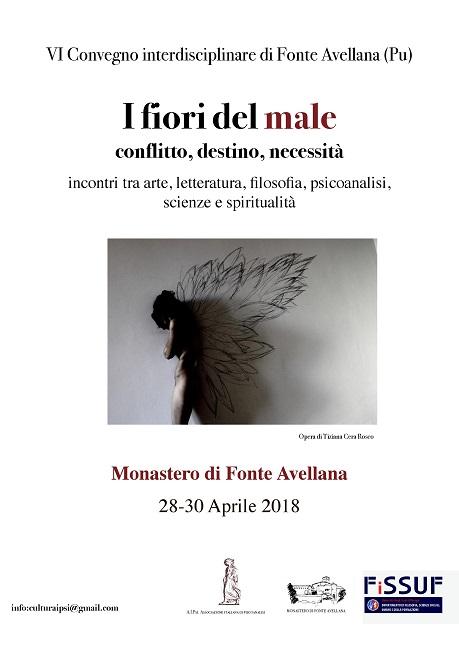 I fiori del male convegno interdisciplinare Monastero Fonte Avellana