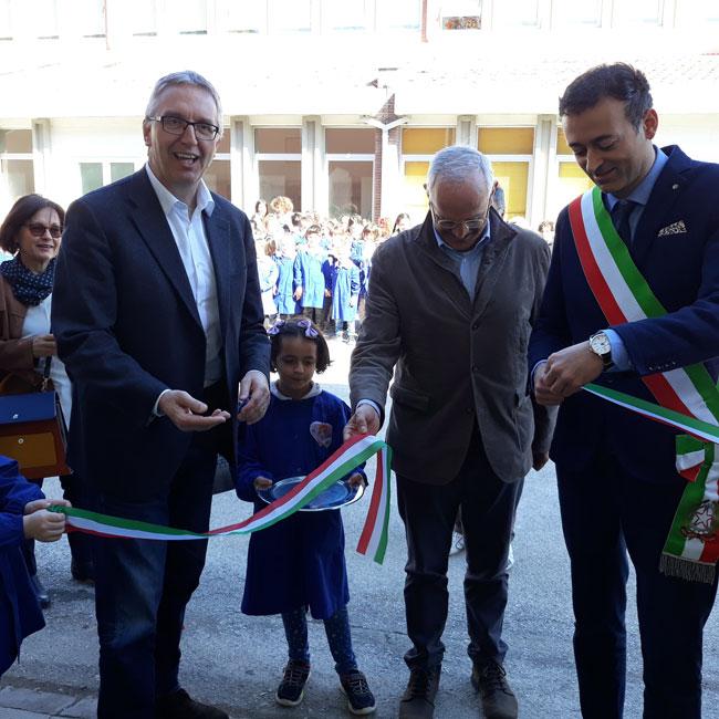 inaugurazione palestra Acqualagna