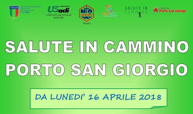 Salute in cammino a Porto San Giorgio riparte l'iniziativa dal 16 aprile