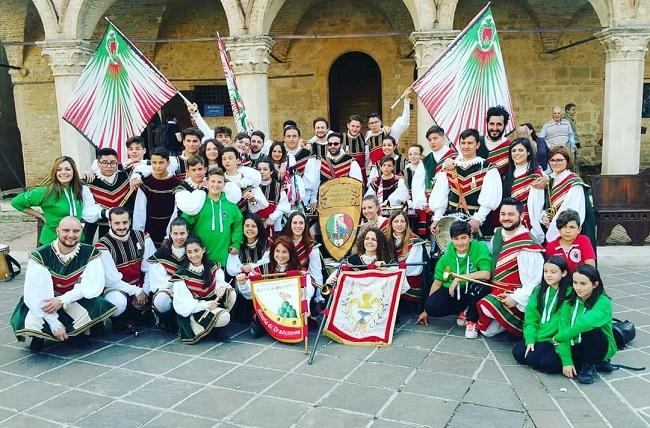 Gruppo storico Sbandieratori e Musici città di Montefalco