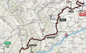 San Severino domani passaggio Giro d'Italia