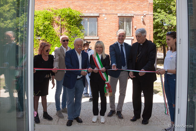 San Severino inaugurato nuovo laboratorio macchine utensili