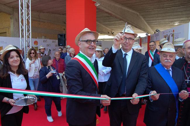 inaugurazione Raci presidente Ceriscioli Macerata