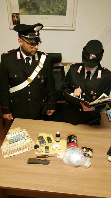 Cingoli sequestro droga arrestato quarantenne