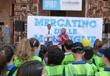 Pesaro, oltre 100 alunni in piazza per il Mercatino delle Meraviglie
